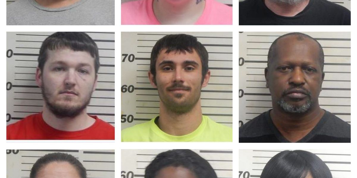 9 from Mississippi Co. arrested during warrant roundup