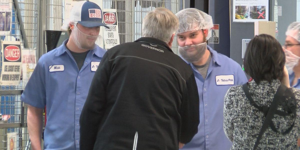 Missouri Governor visits Sikeston business for workforce development