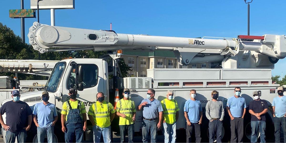 So. Ill. Ameren crews to help restore power following Hurricane Isaias
