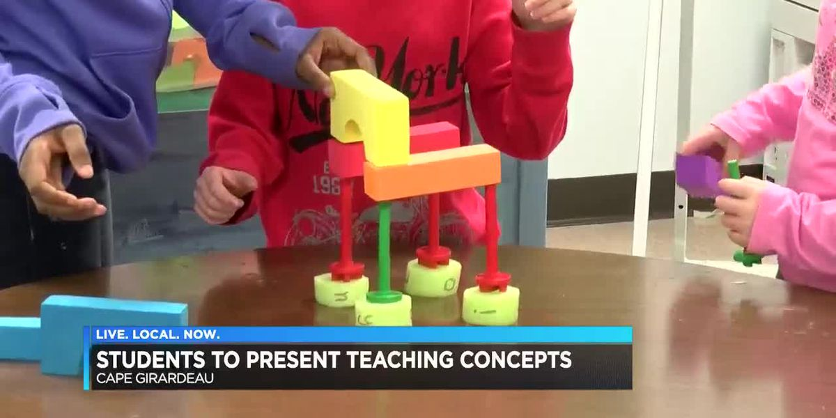 Jefferson Elementary students present teaching concepts