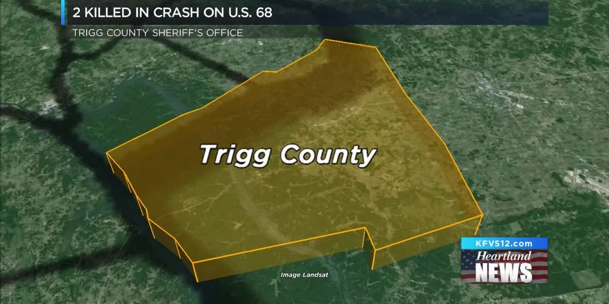 2 dead after two-vehicle crash on US 68 in Trigg County, KY
