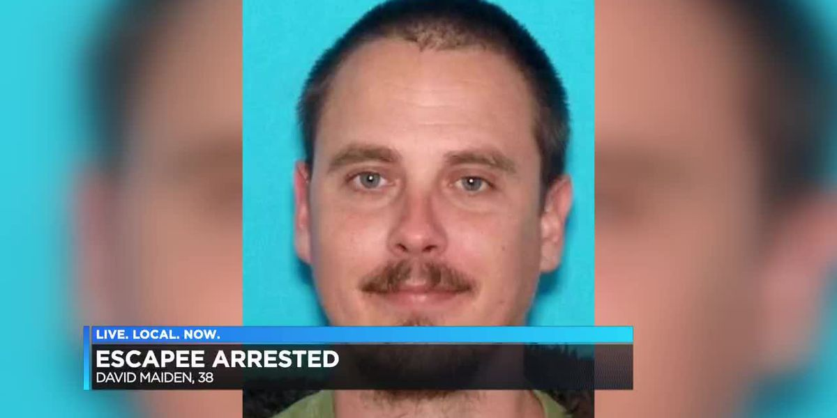 Man arrested after escaping halfway house and breaking into Paducah, KY homes