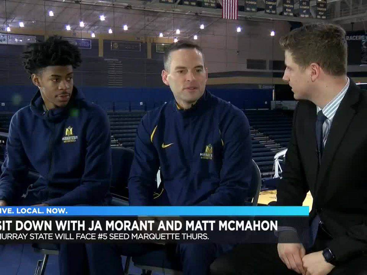 Heartland Sports sit down with Ja Morant and Coach McMahon