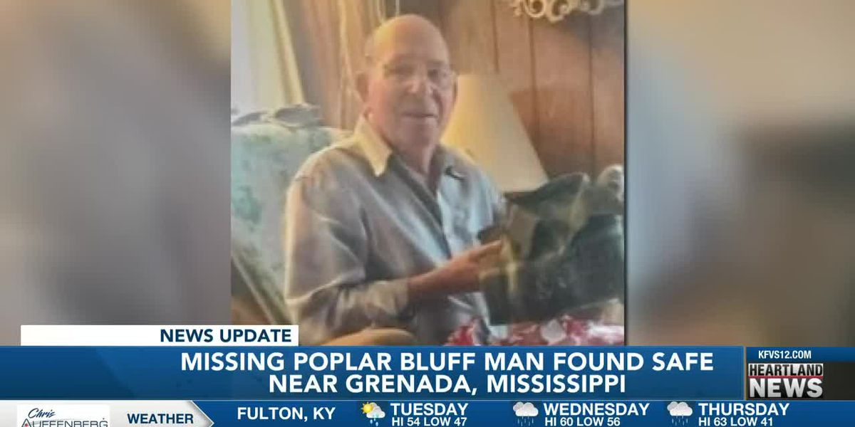 Poplar Bluff missing man found safe in Mississippi