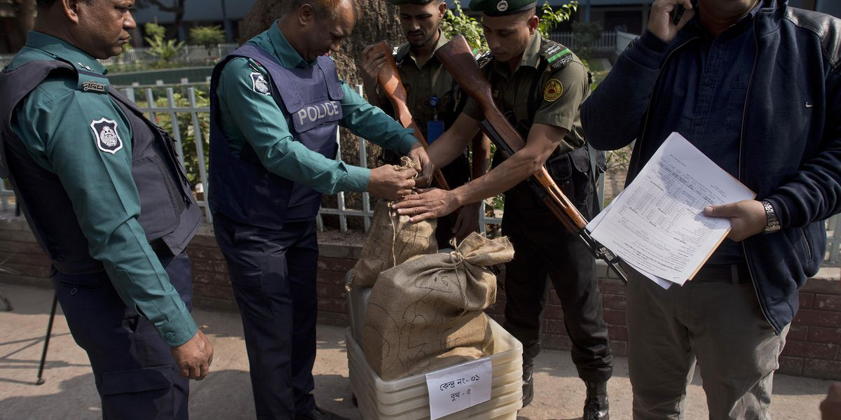 The Latest: Bangladesh opposition calls election 'farcical'