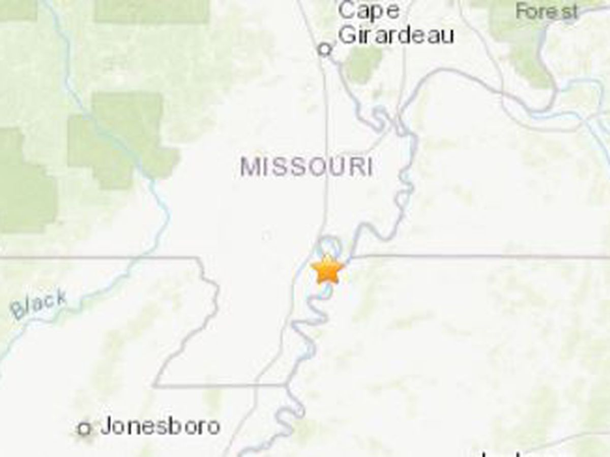 3.0 magnitude earthquake shakes New Madrid County, MO