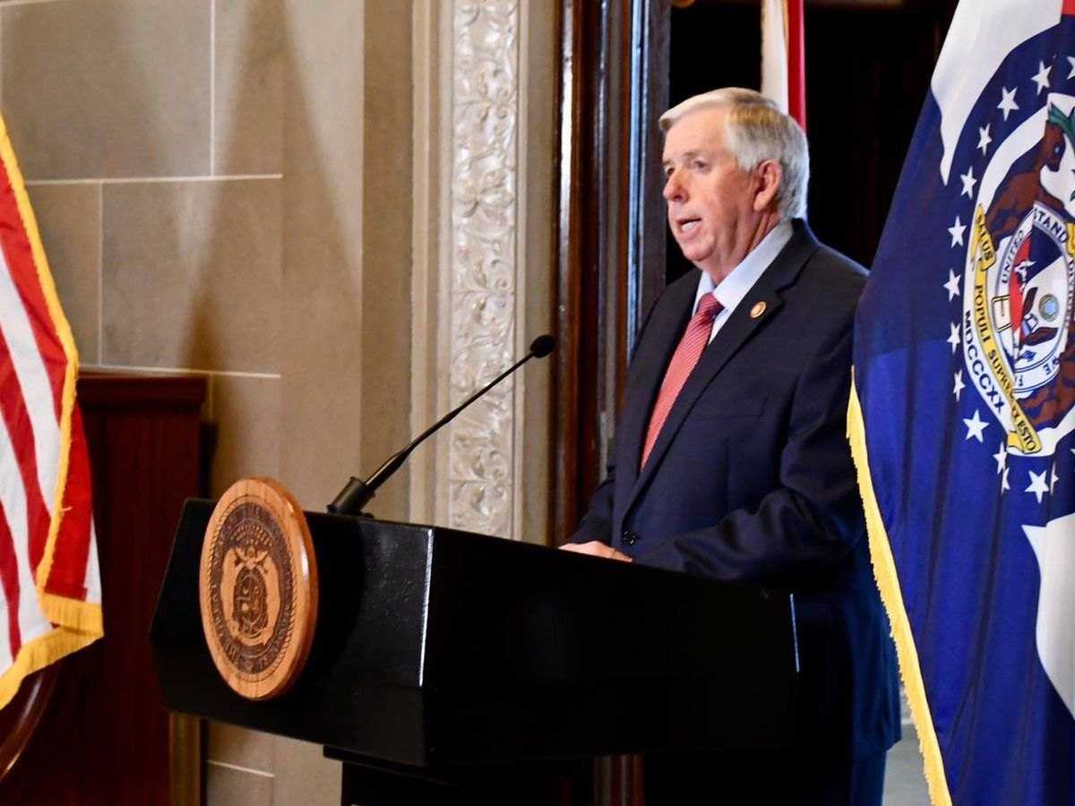 Gov. Parson sworn in as 57th Governor of the State of Missouri