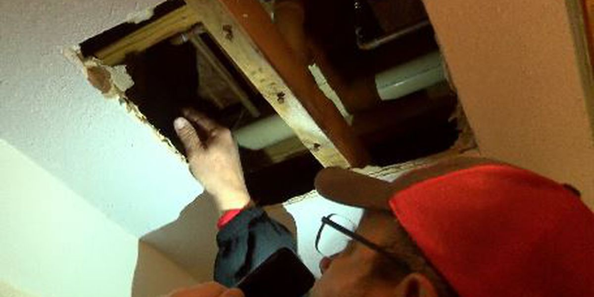 Freezing temperatures cause broken pipes in homes