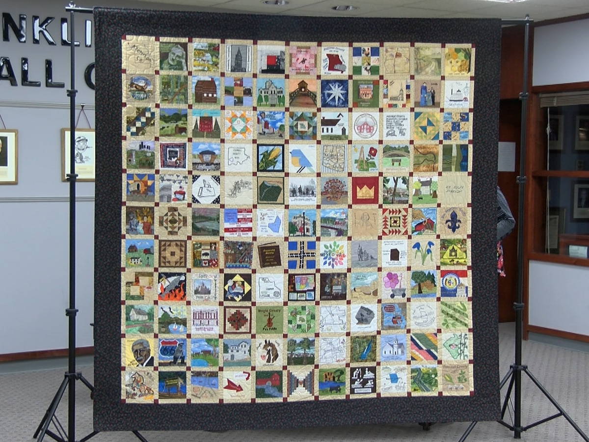 Mo. Bicentennial Quilt makes stop at Bollinger County Museum of Natural History