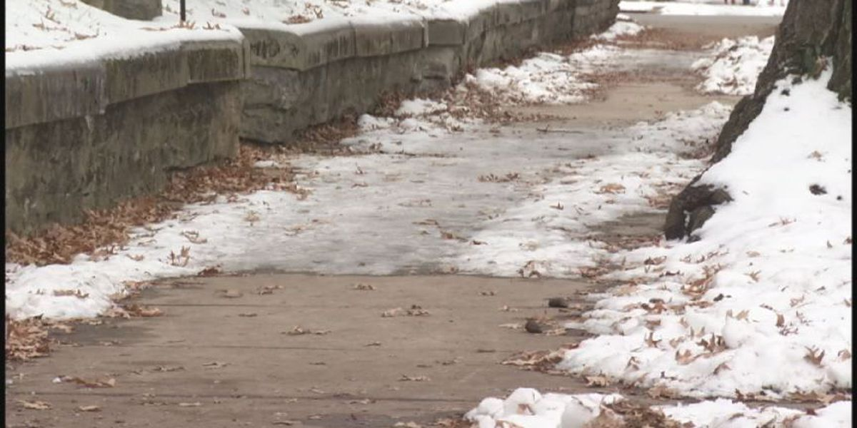 Local ER doctor warns to be careful walking on ice
