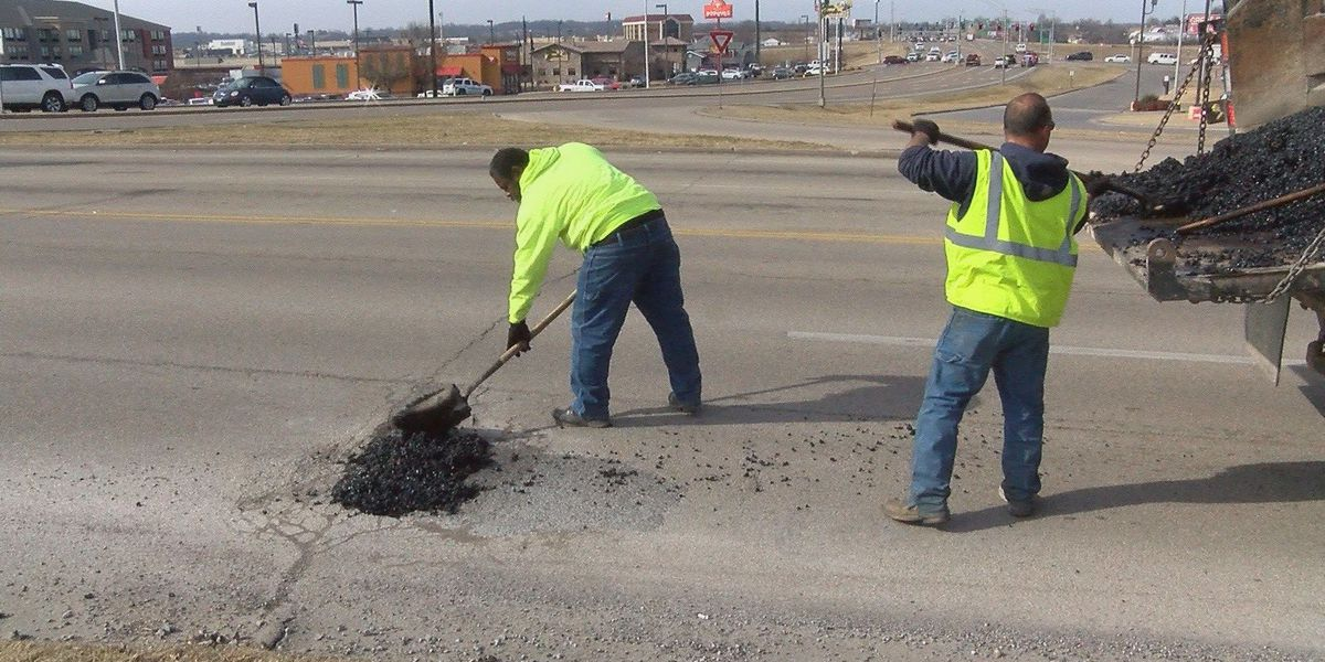Potholes more prevalent in winter, crews limited to temporary fix