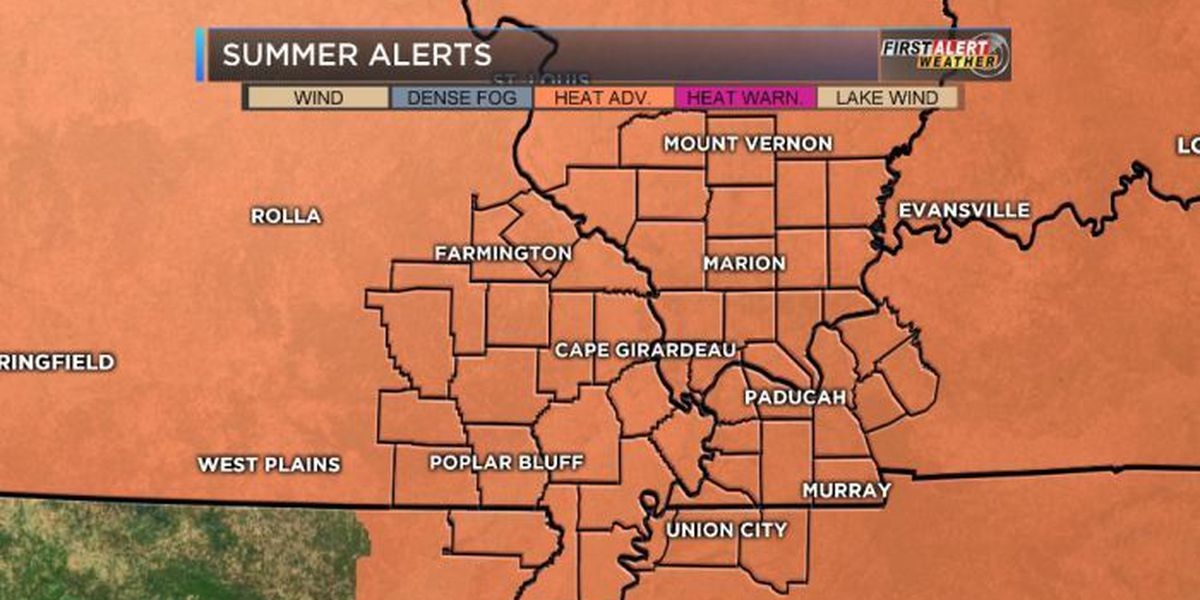 First Alert: Extreme heat continues - heat index over 105 now!