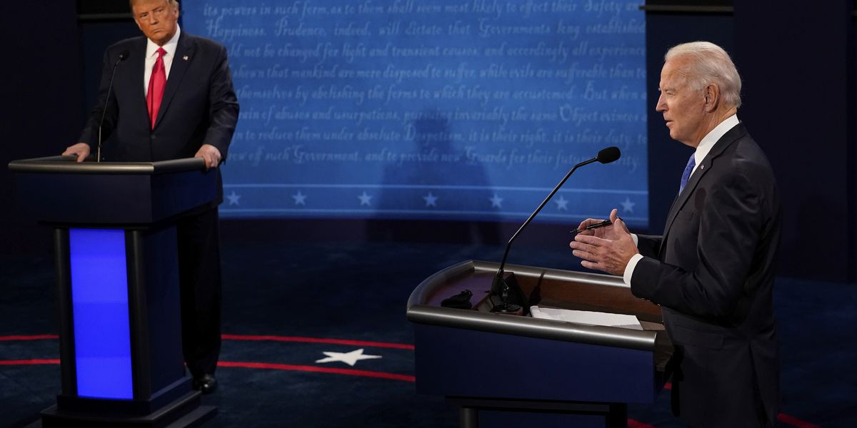 AP FACT CHECK: Examining claims from last Trump-Biden debate