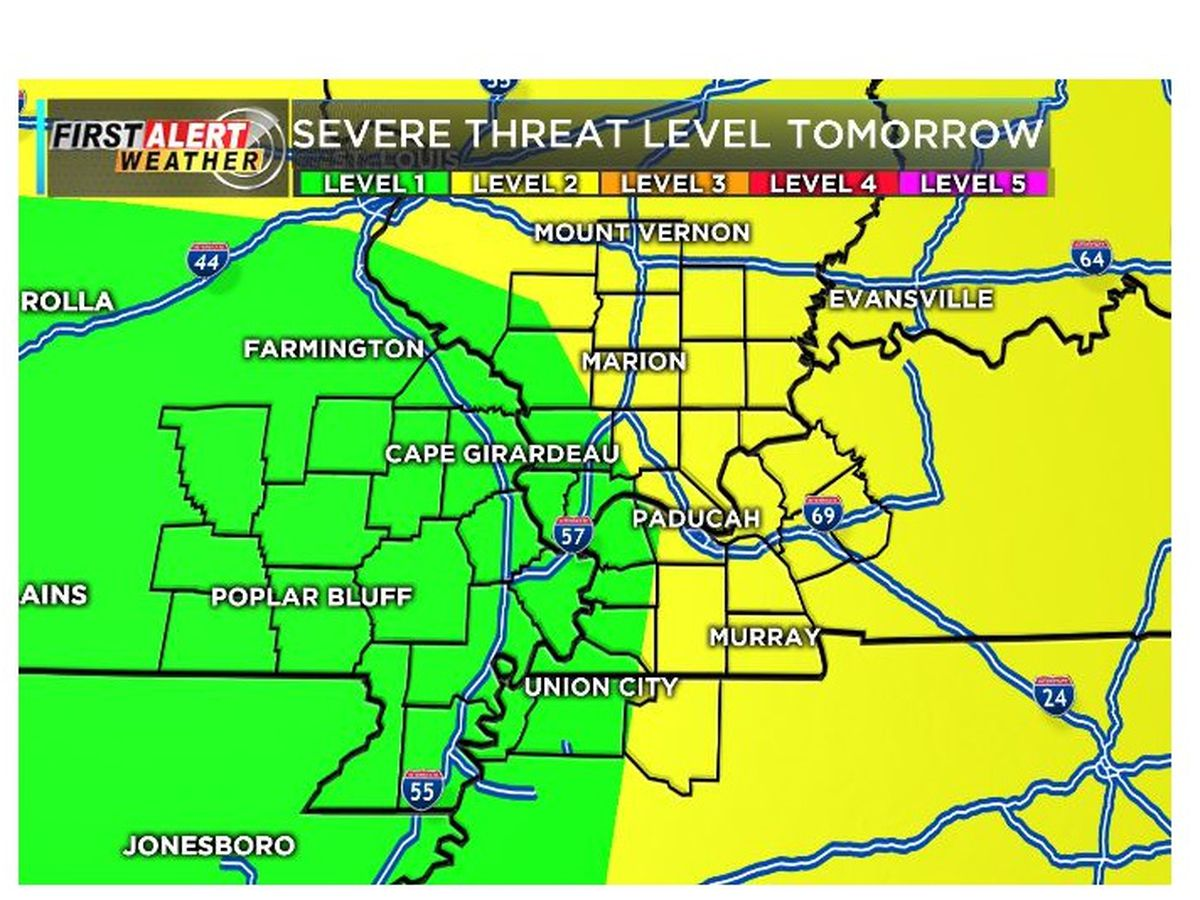 First Alert: Some isolated storms tonight, more storms tomorrow