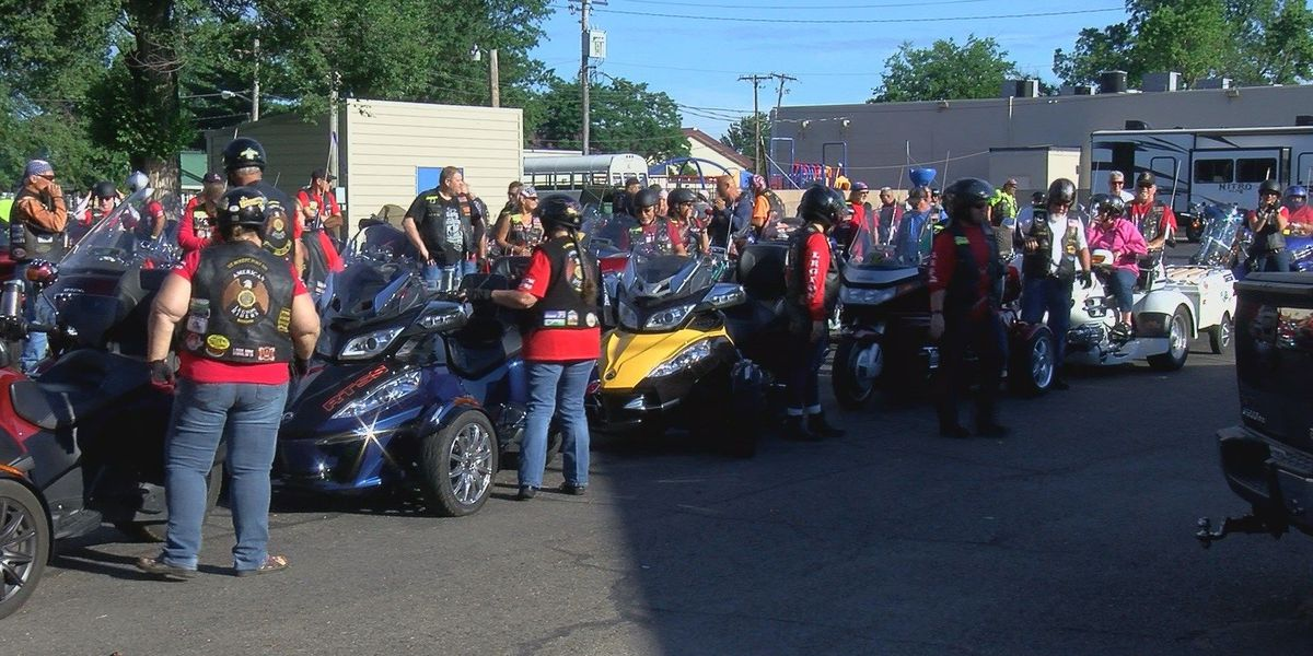 Riders set off for American Legion Legacy Ride