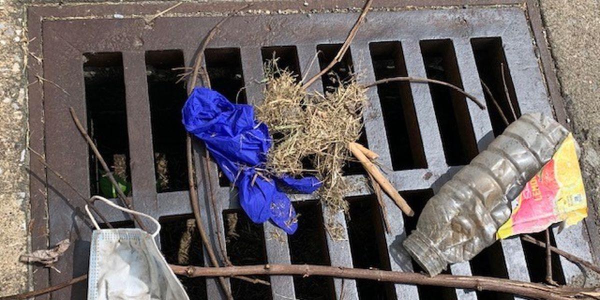PPE littering in Sikeston