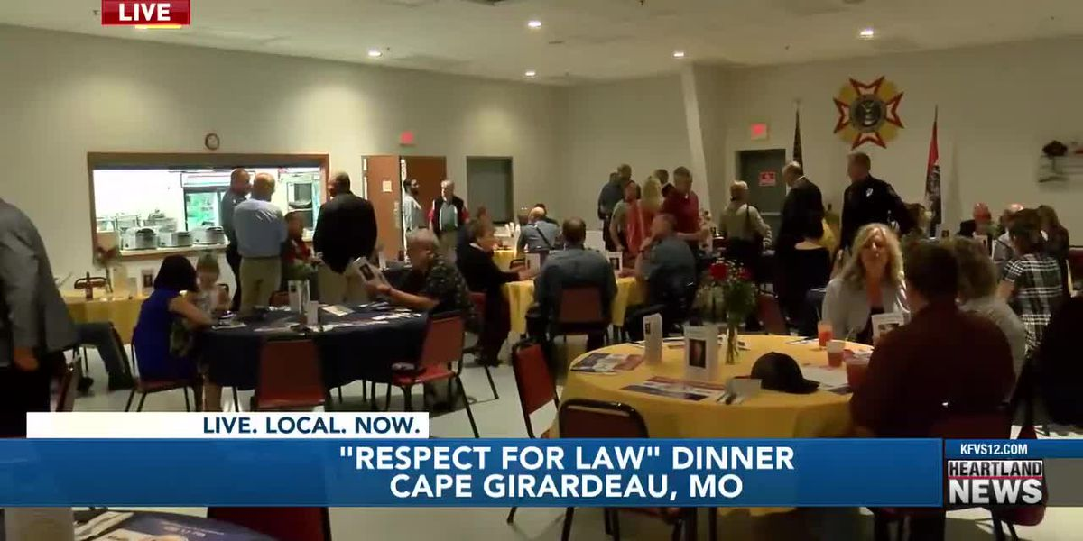 """Cape Girardeau VFW hosts """"Respect for Law"""" dinner"""