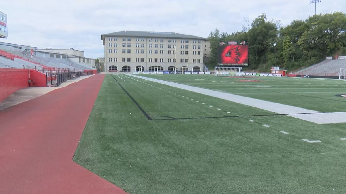 War for the Wheel watch party held at Houck Stadium