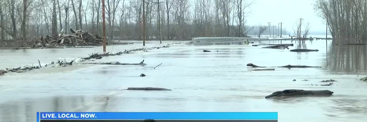 Flooding in Alexander Co. Ill