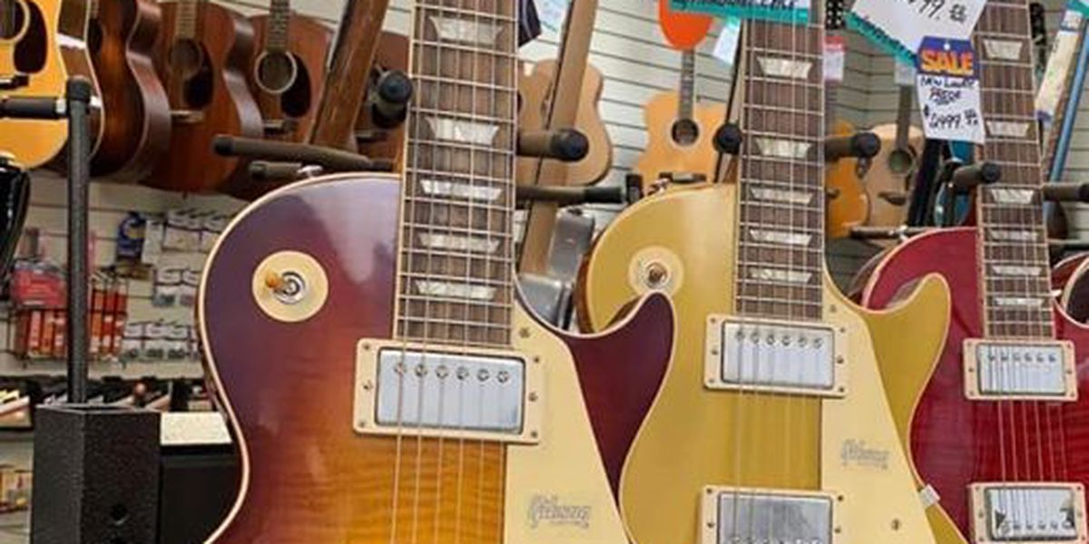 Reward offered for stolen guitars