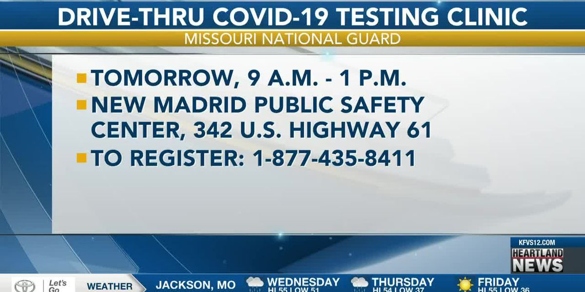 New Madrid Co. COVID-19 testing