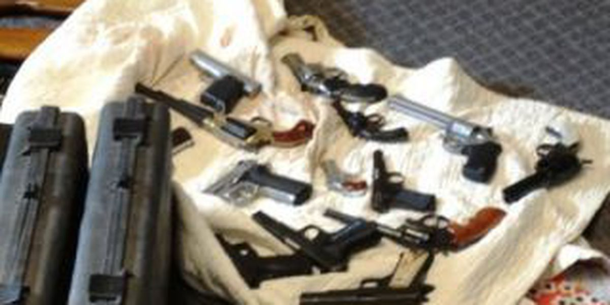 Sheriff: Guns and drugs found in Ky. convicted felon's home