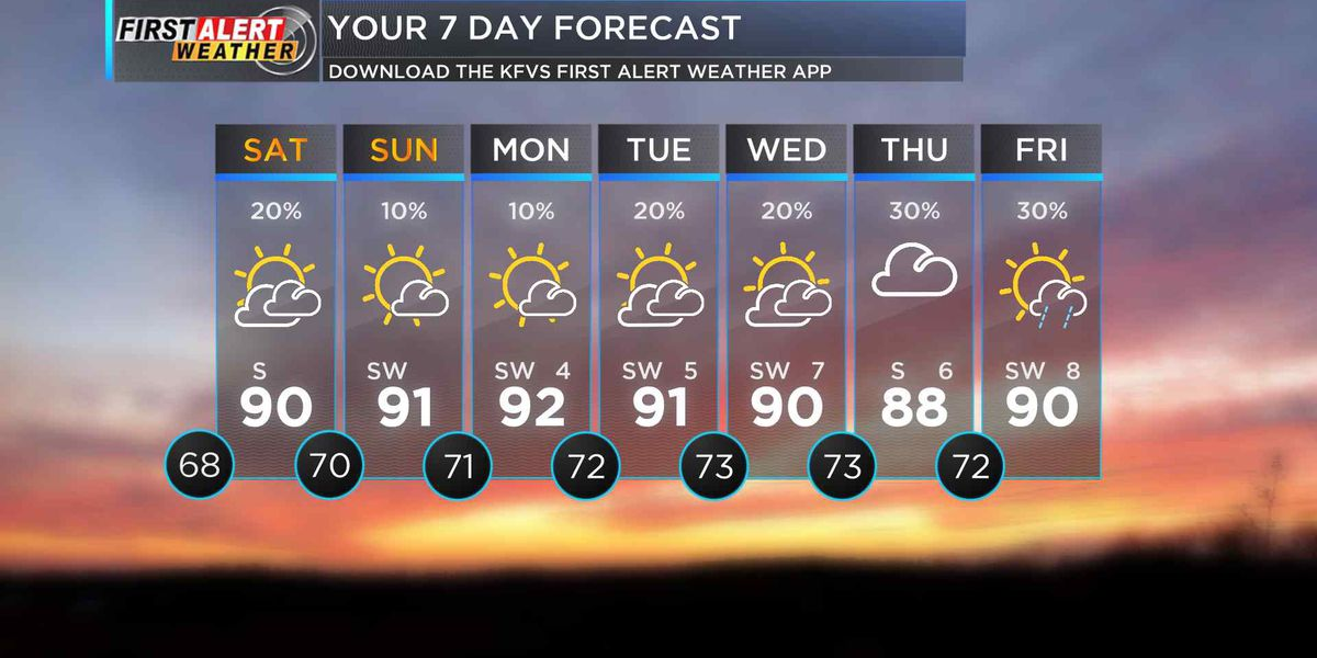 First Alert: More heavy rain could lead to flash flooding