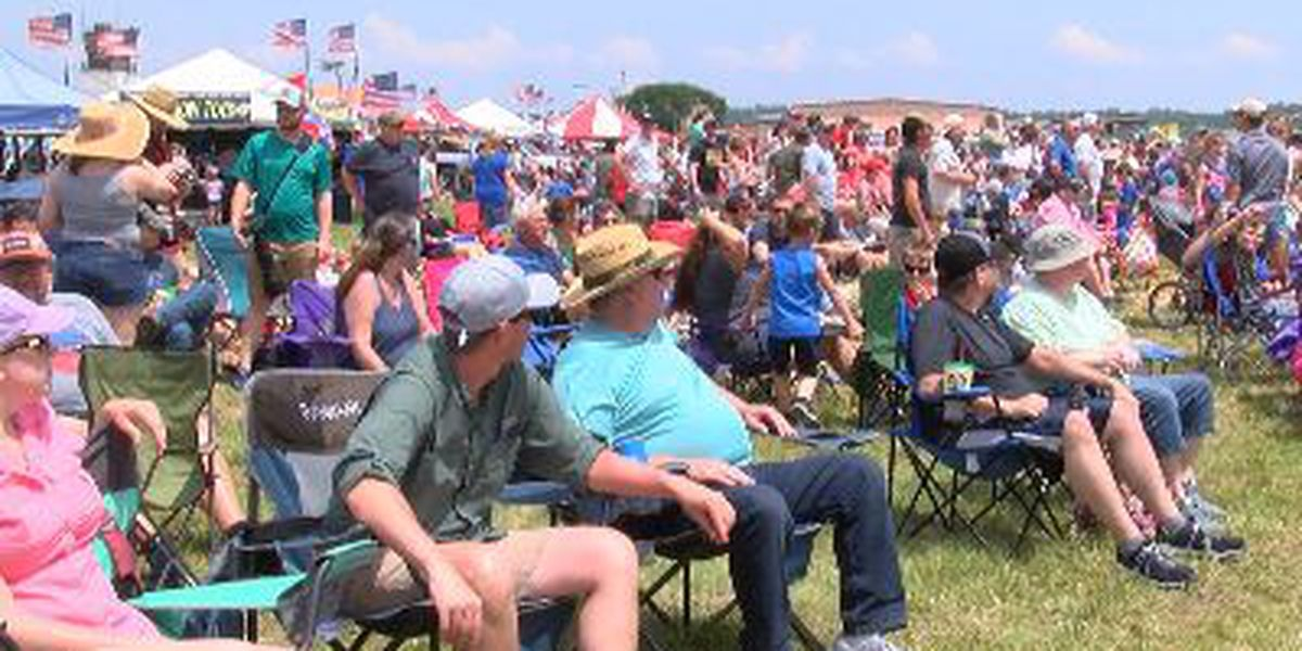 Doctor urges people to prepare for Sunday air show after sunburns, dehydration