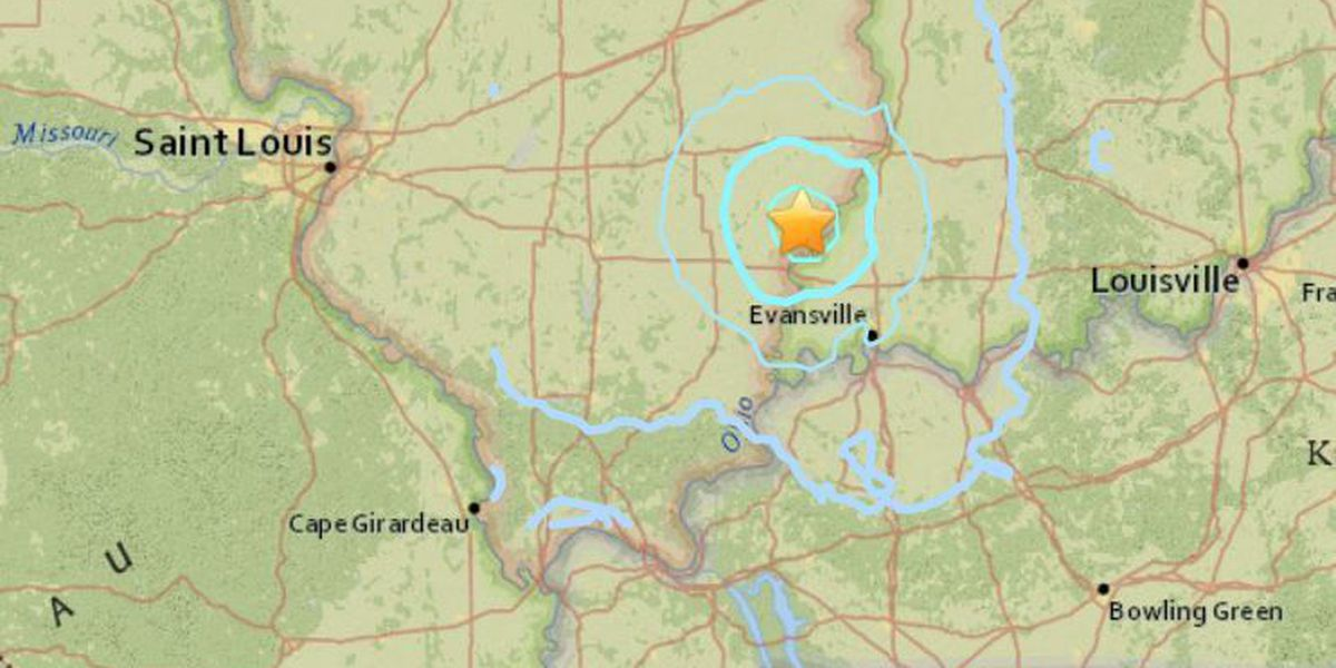 3.8 magnitude earthquake rattles part of southern IL