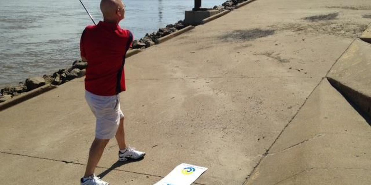 Golfing around downtown Cape Girardeau