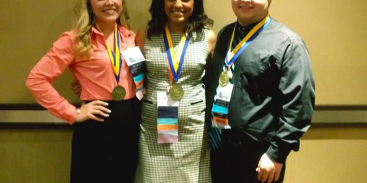 FBLA students qualify for national competition