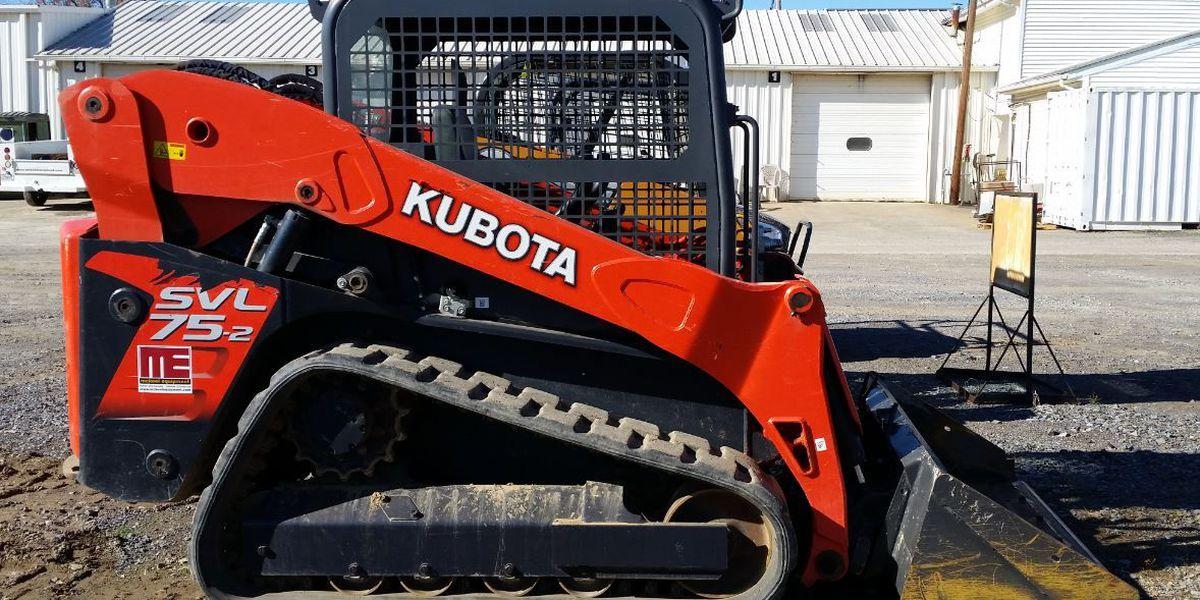 Paducah PD investigating theft of Kubota Track Loader
