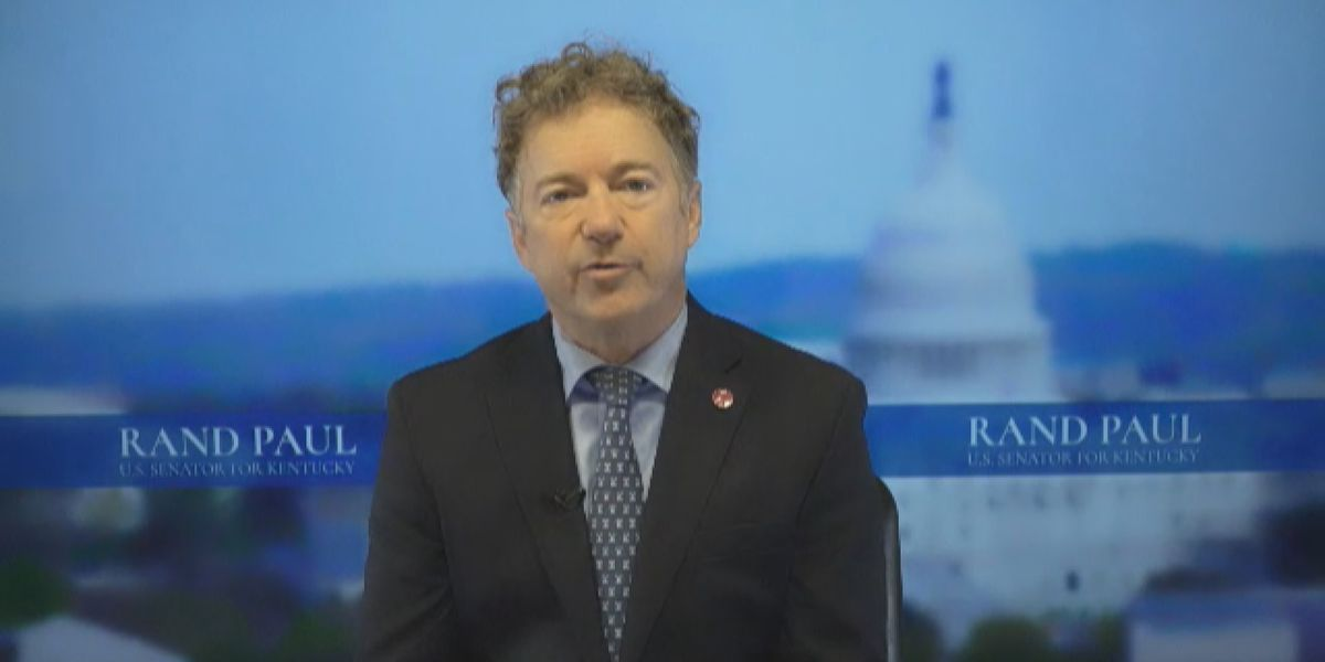 Sen. Rand Paul discusses congressional earmarks and police reform