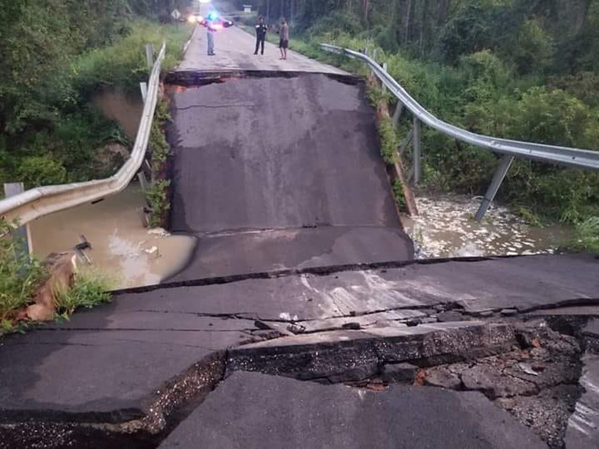 Bridge collapses near Ga., Fla. line