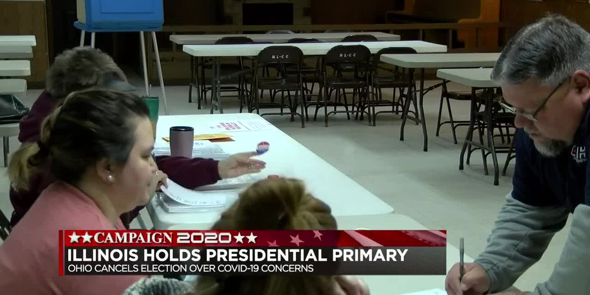 Ill. holds primary at 4pm 3/17