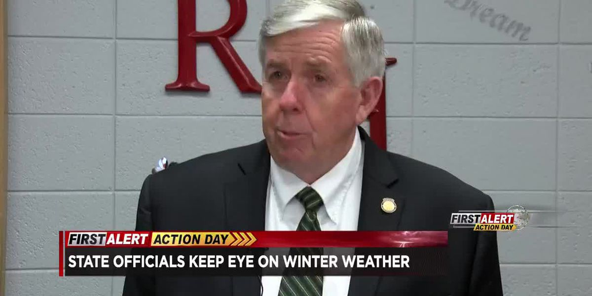 Gov. keeping an eye on MO winter weather