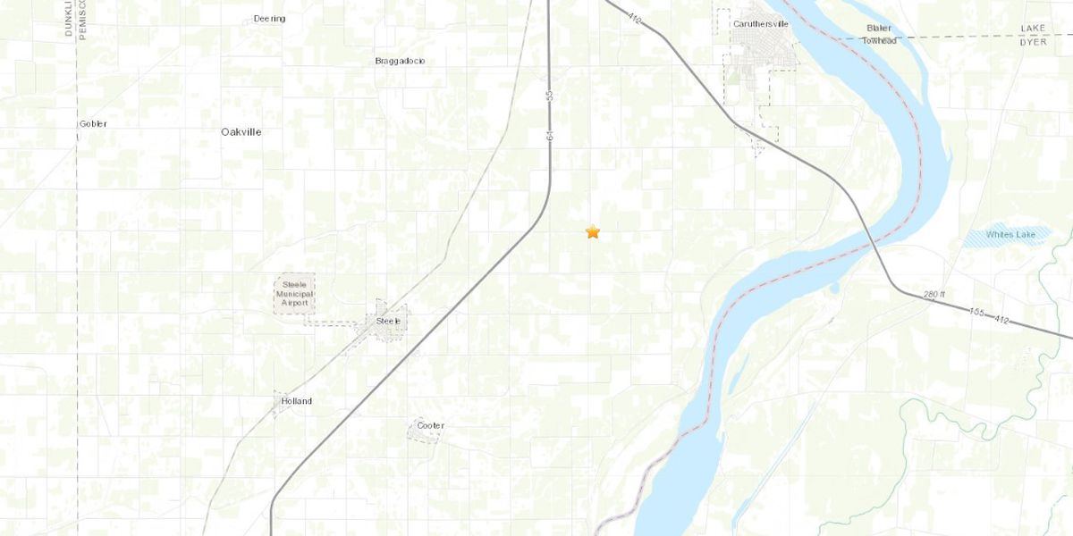 Small earthquake recorded in Bootheel