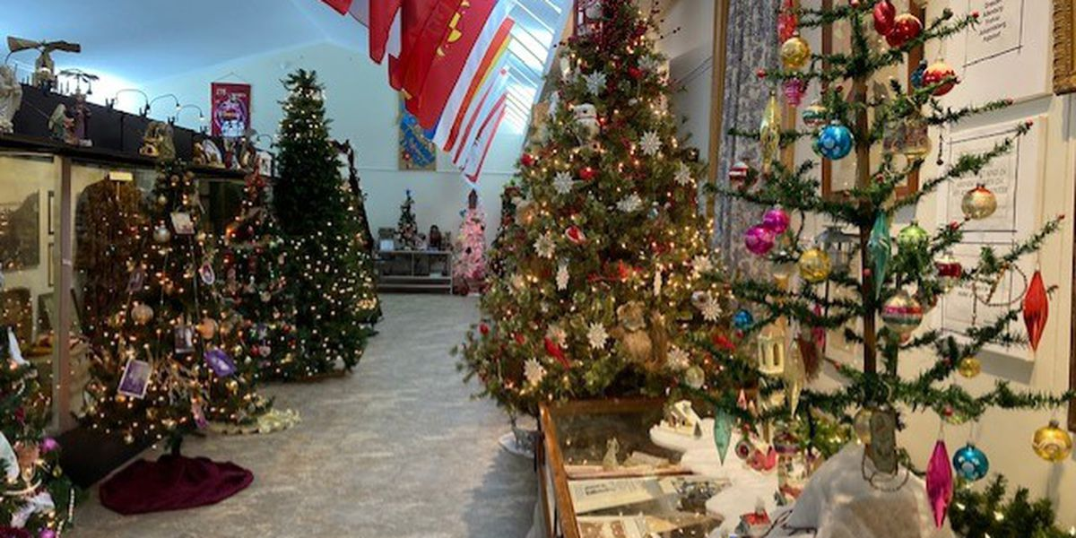 Altenburg, Mo. museum displays dozens of Christmas trees