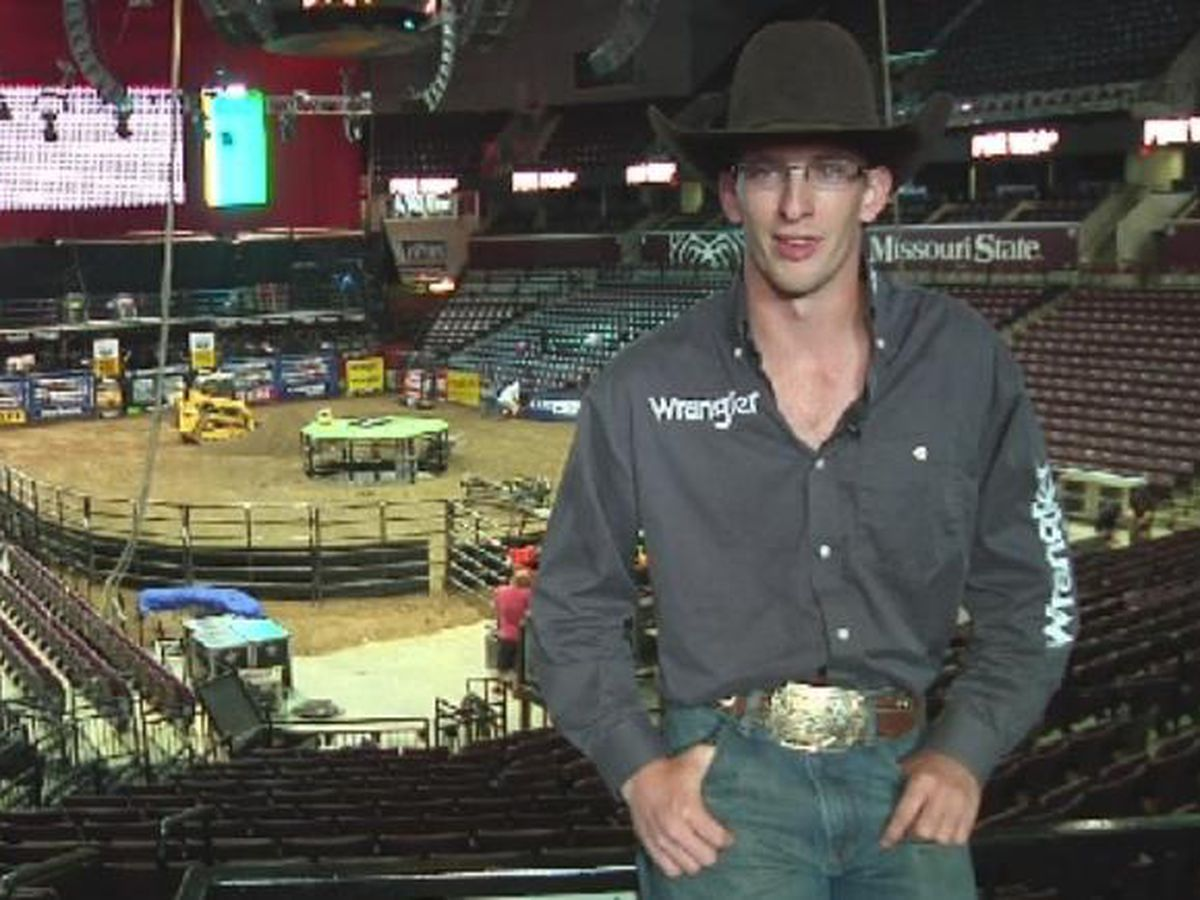 Heartland reacts to the loss of top ranked professional bull rider