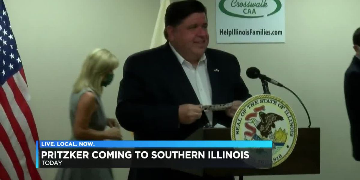 Gov. Pritzker to visit Carbondale, Cairo Tuesday