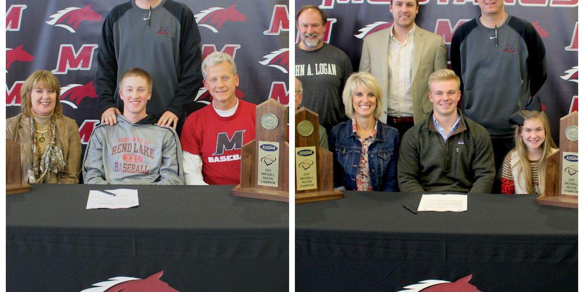2 McCracken Co. HS seniors sign to play collegiate baseball