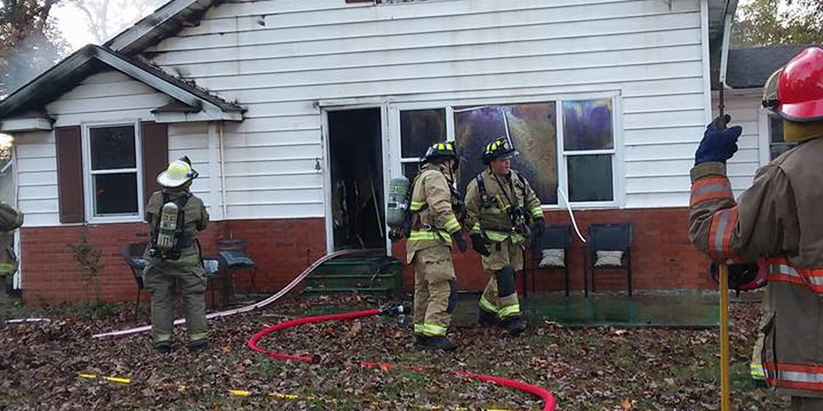 Lake Egypt fire officials respond to house fire