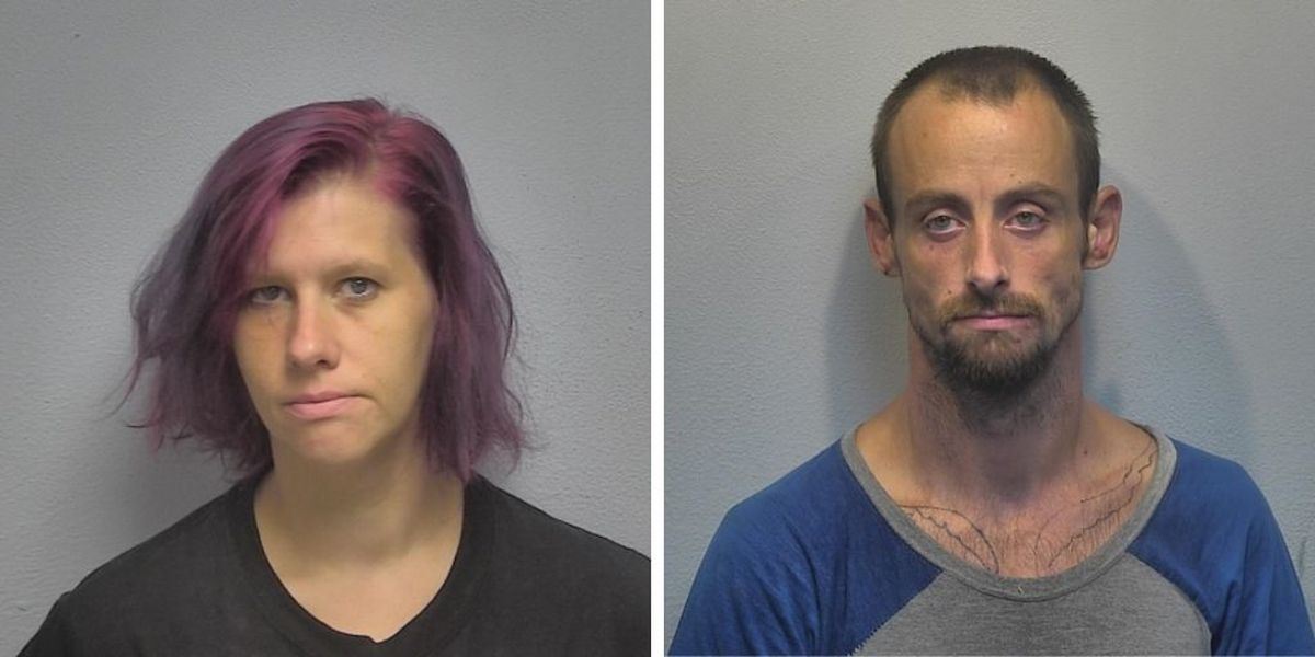 Paducah man, woman arrested in connection to thefts from vehicles