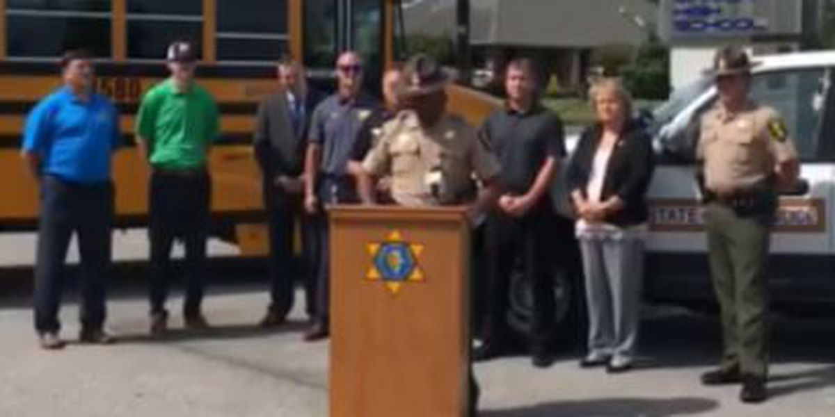 Illinois State Police talk school zone safety in Marion