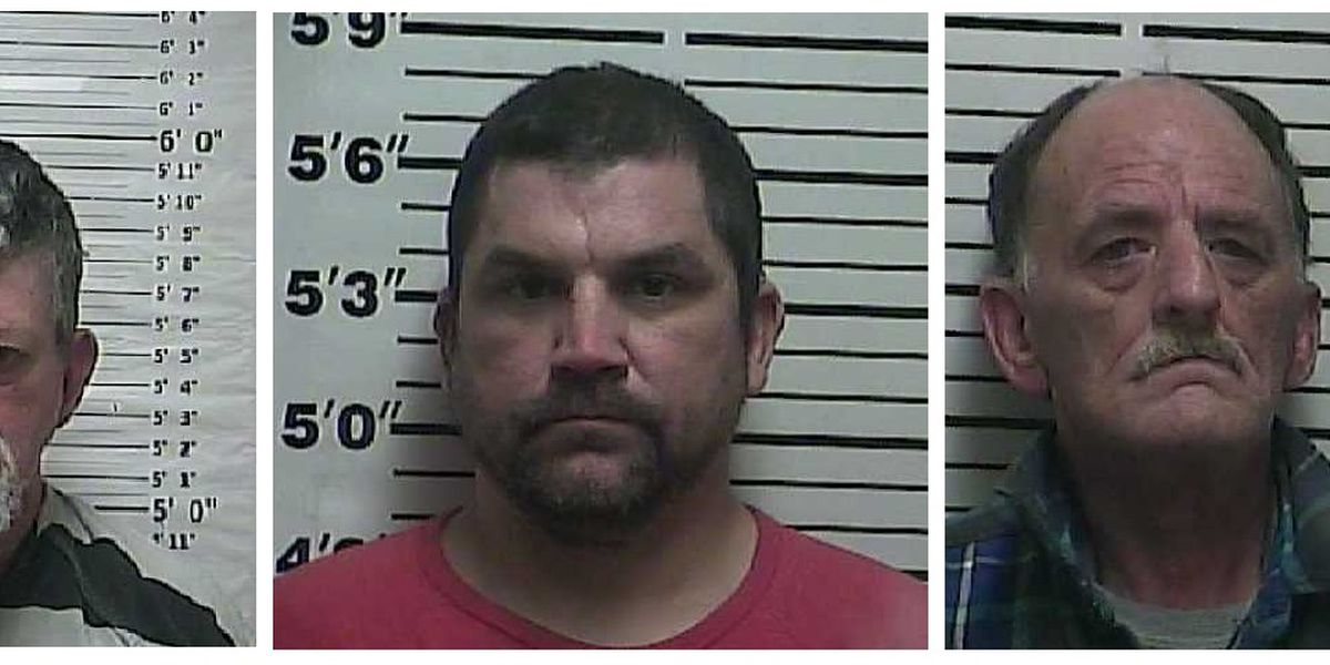 3 arrested on drug charges in Weakley County, TN