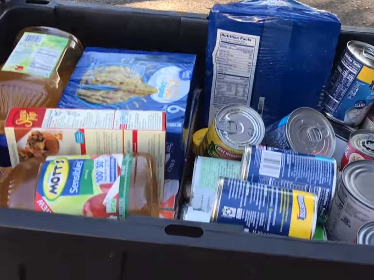 Drive-thru food distributions hosted by SEMO Food Bank