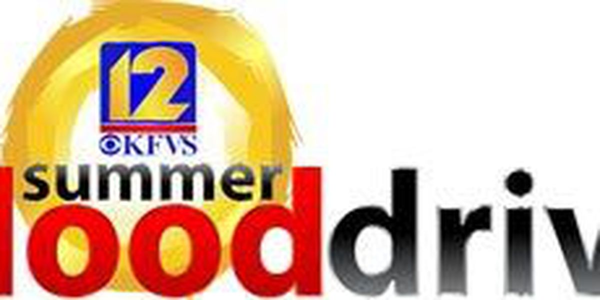 The KFVS12 Summer Blood Drive