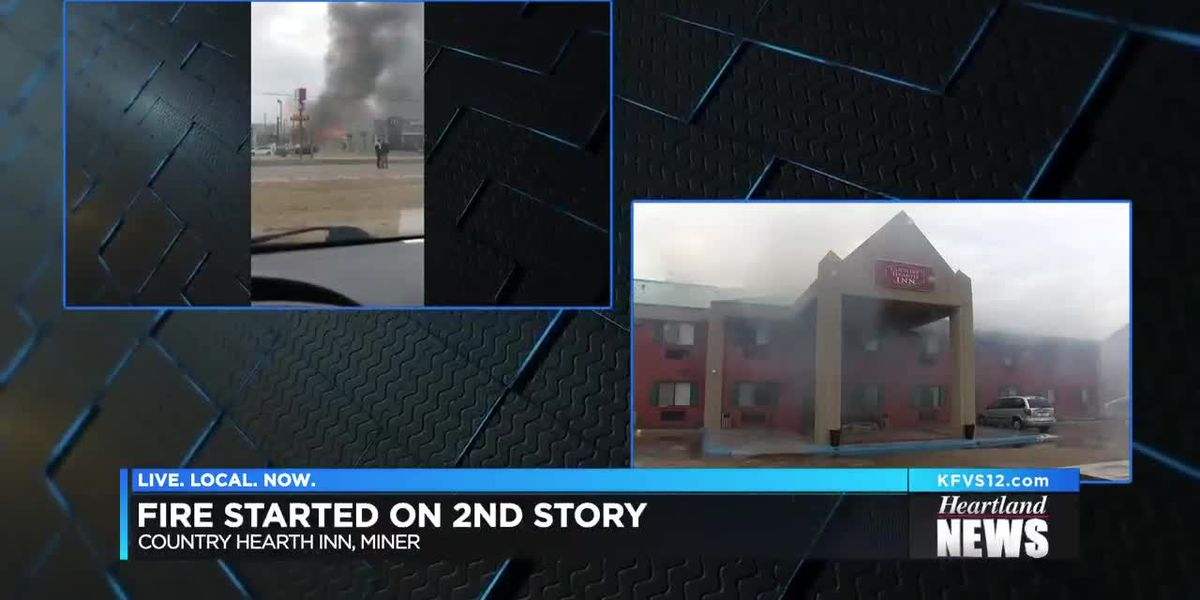 Hotel fire in Miner, MO