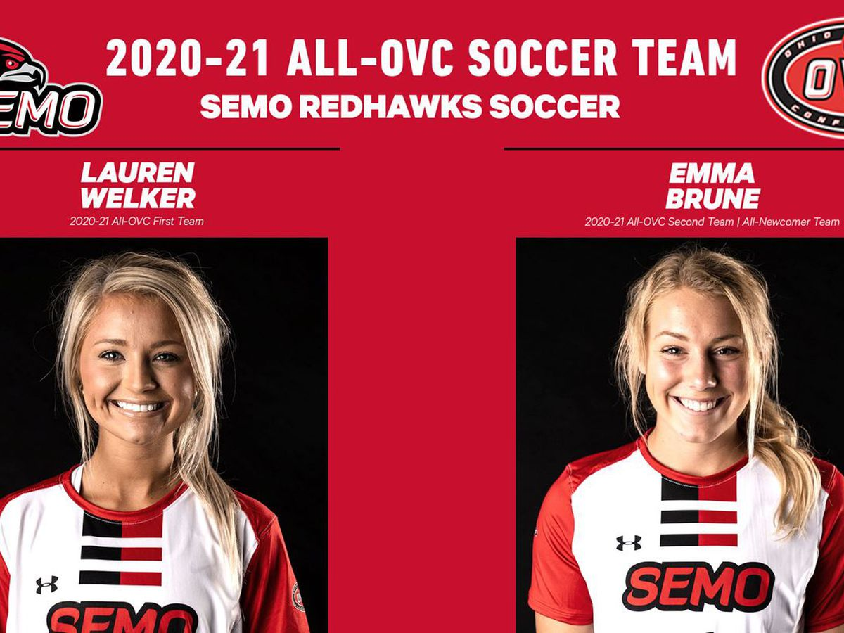 Welker and Brune selected to All-OVC Soccer Teams ahead of 2020-21 Championship