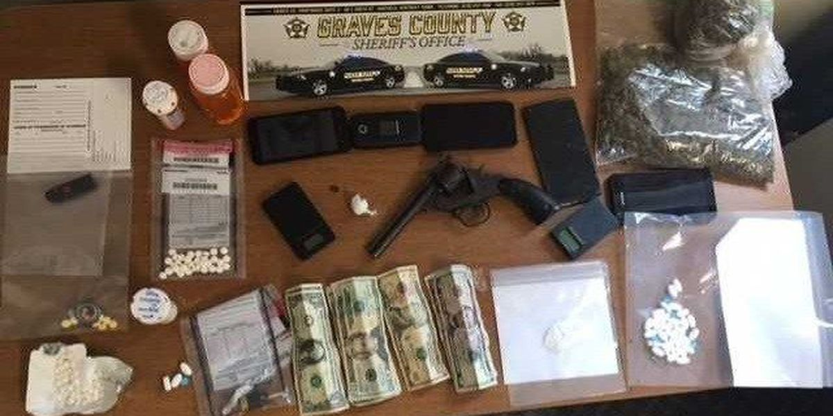 Two arrested in Mayfield, KY after drug seize by Graves County Sheriff's Department